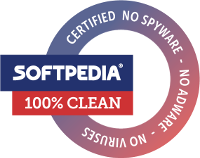 100% Clean Certified by Softpedia.com