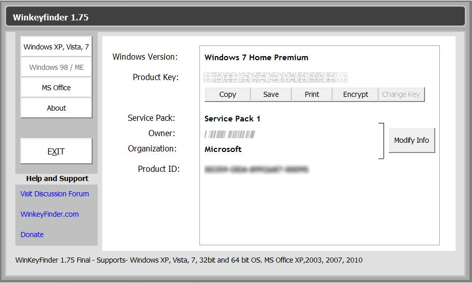 Программа Замена Серийного Номера Windows Xp