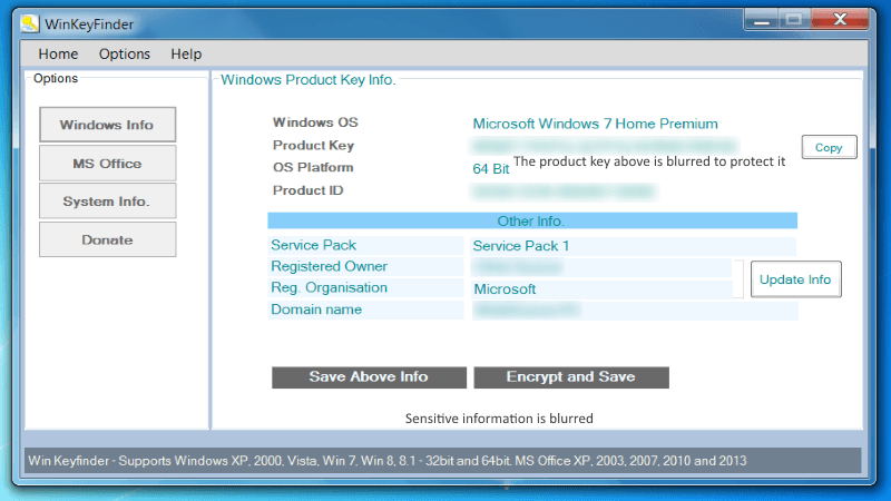 Win KeyFinder freeware